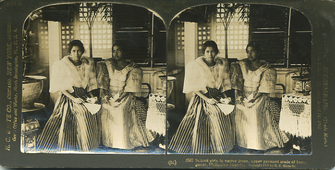 Filipino Native Dress